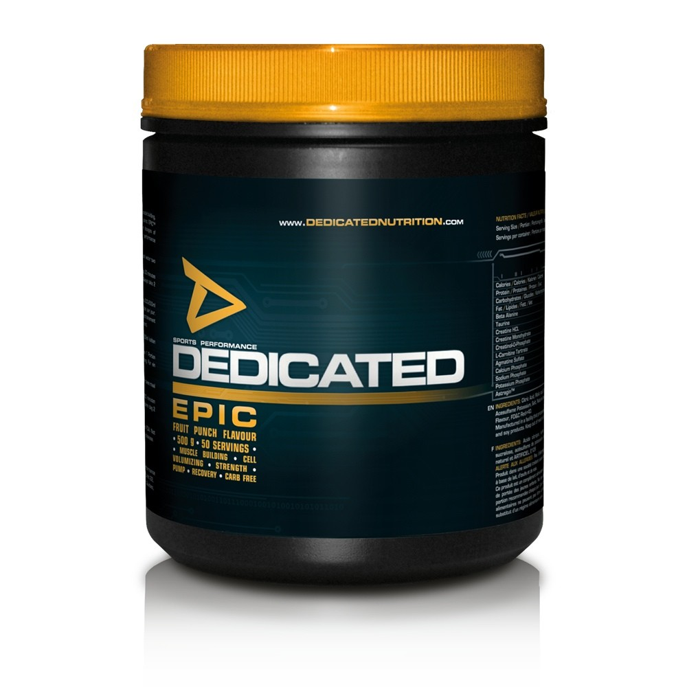 Epic – Dedicated Nutrition