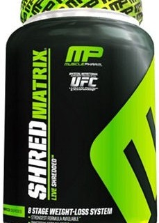 Shred Matrix - Musclepharm supplement