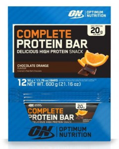 Complete protein bar - optimum nutrition