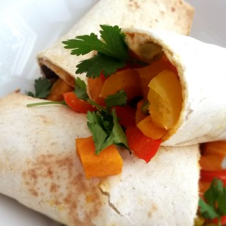 Burrito eiwit recept