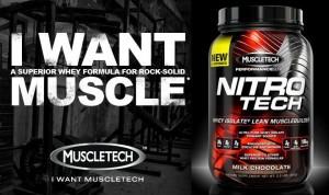 Nitrotech - Muscletech supplement