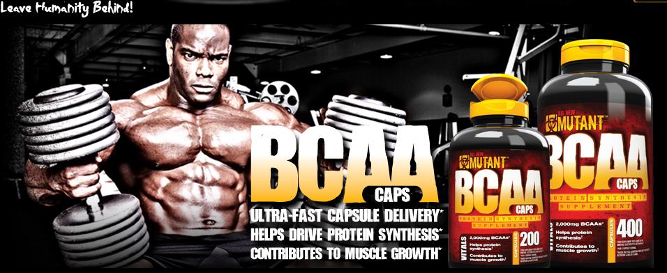 Mutant BCAA supplement informatie