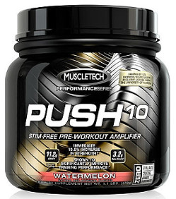 Push10 pre workout Muscletech