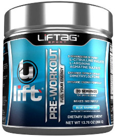 Ulift pre-workout supplement