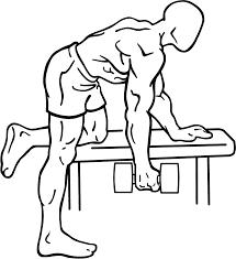 Dumbell row rugoefening uitleg