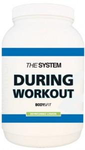 During workout van body en fit