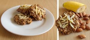 Havermout eiwit koekje