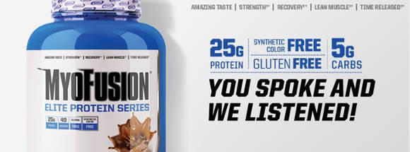 Myofusion Elite eiwit supplement