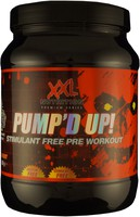 Pump'd up van xxl nutrition