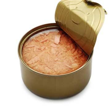 Is tonijn uit blik gezond?
