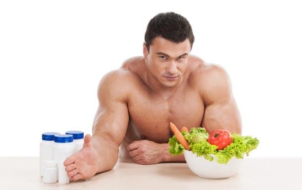 gezond aankomen dieet