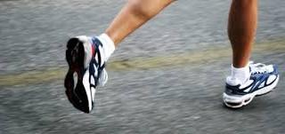 Afvallen door hard te lopen